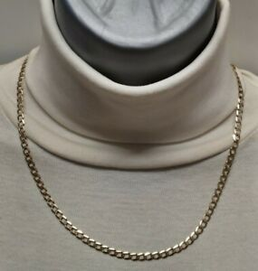 Heavy 9ct Gold curb chain well hallmarked  ,solid chain