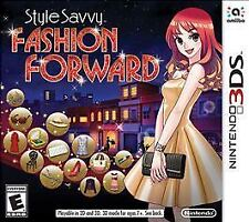 NINTENDO 3DS STYLE SAVVY FASHION FORWARD BRAND NEW VIDEO GAME