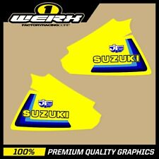 SUZUKI RM250 RM400 1979-80 EVO MX DECALS TANK GRAPHICS STICKERS OEM 1979 JT