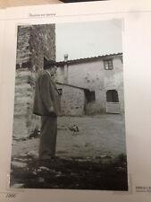 RIPRODUZIONE FOTO ALINARI EMILIO CECCHI A MONTE MORELLO FIRENZE 12X18 1954 (6)