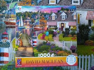 Ceaco 1000 Piece Jigsaw Puzzle David Maclean With Bonus Poster