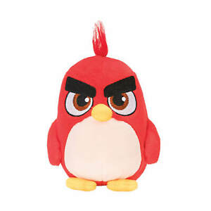 """ANGRY BIRDS - Little 5"""" Plush RED - Jazwares"""