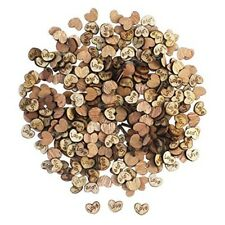 Wooden Hearts Love 300 Pc Craft Wedding Party Decor Rustic Country Western New
