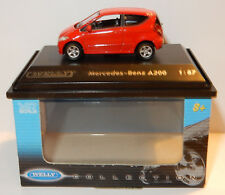 MICRO WELLY COLLECTION MERCEDES-BENZ A200 ROUGE HO 1/87 IN BOX