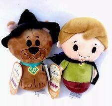NWT Scooby-Doo & Shaggy Itty Bittys 4in Plush Hallmark Halloween Gift