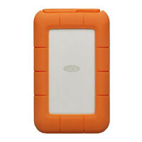Lacie Rugged Thunderbolt USB-C 2TB Portable Hard Drive