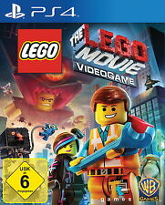 The LEGO MOVIE VIDEOGAME (SONY PLAYSTATION 4) NUOVO OVP