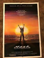 MASK Cher Eric Stoltz  1982 ORIGINAL 1 SHEET MOVIE POSTER 27 x 41