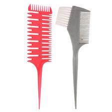Blesiya Salon Barber Highlighting Weaver Sectioning Comb+Coloring Brush