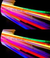 1000 pz. Bracciali Luminosi StarLight  Braccialetti 10 cerchietti in omaggio