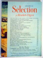 SÉLECTION DU READER'S DIGEST DE DÉCEMBRE 1964