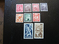 SARRE (allemagne) - timbre - yt n° 252 255 a 262 n* (A3) stamp germany