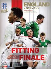 * ENGLAND v GERMANY (19th November 2013) FRIENDLY - MINT PROGRAMME *