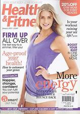 Health and Fitness magazine More energy Smart diet fixes Age proof your health