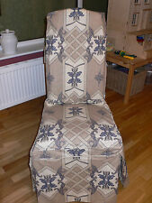 VINTAGE LAURA ASHLEY FABRIC Dining Chair Cover For BERKELEY