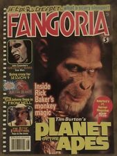 Fangoria magazine issue # 205 Vfnm Planet Of The Apes