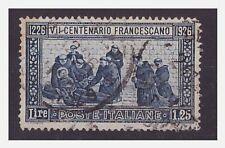 1926 - SAN FRANCESCO Lire 1,25  dent. 14  usato