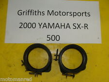 00 YAMAHA SXR 500 600? SX R VMAX? SRX? 99 01? CARB AIRBOX BOOTS BOOT SET JOINT