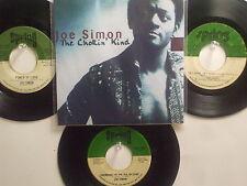 LOT OF 4 ' JOE SIMON  ' HIT 45's+1PS(Copy) [The Chokin' Kind]  THE 60's&70's!