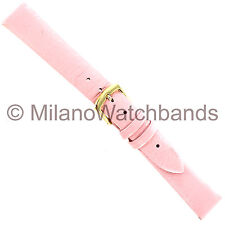 14mm Hadley Roma Salmon Pink Genuine Lambskin Ladies Watch Band LS 832