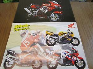 HONDA FIREBLADE MOTORCYCLE  POSTERS. MAN CAVE,GARAGE,BEDROOM ETC