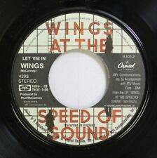 Rock 45 Wings - Let 'Em In / Beware My Love On Capitol Records
