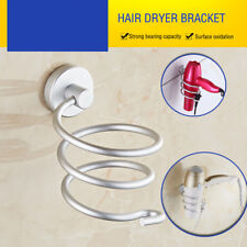 Hairdryer Aluminum Bathroom Shelf Wall Mounted Dryer Rack Holder Storage New