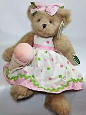 Bearington Bear Suzette Sugarcone Pink Scented Rare Retired Smellington Series
