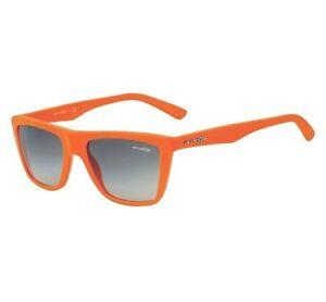 Arnette AN 4119-05 Agent Bright Orange Grey Gradient Lens Retro Sunglasses .