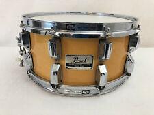 Pearl Super Gripper Maple Snare Drum GLX 10-lug Rare Vintage