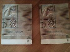 Scriptorium Vol A B - Antologia Latina Diretta da Gian Biagio Conte - Le Monnier