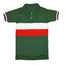 MAGLIA ITALIA AL TOUR DE FRANCE COLLO ALL'ITALIANA Vintage Jersey Made in Italy