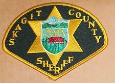 SKAGIT COUNTY SHERIFF Washington WA Co SD SO patch