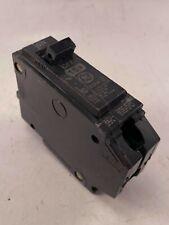 Ge Circuit Breaker Thhqb1115 1 Pole 15 Amp 120v Used