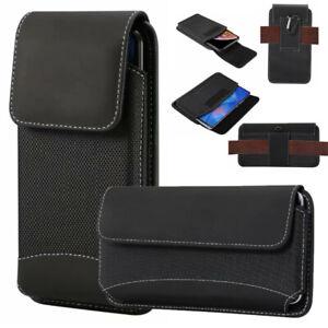 Universal Nylon Belt Hook Pouch Case Holster Bag For Blackview Mobile Phones