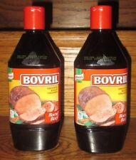 2 BOTTLE Knorr Bovril Beef Bouillon Beef Gravy 500ml bottle Fresh from Canada