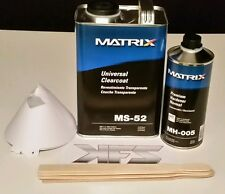 MS-52 MATRIX SYSTEM Gallon Clearcoat Clear Coat Kit - Your Choice of QT Hardener