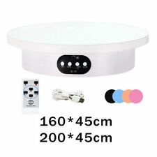 Turntable Display Stand Platform Revolving Rack Home Decor For Collectibles