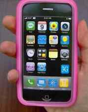 CUSTODIA - COVER ROSA per Apple iPhone 3G 8/16GB e 3G S