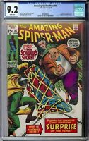Amazing Spider-Man # 85 CGC 9.2 WP Kingpin app. & Cover