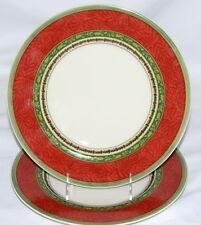 Villeroy & Boch Festive Memories * 2 DINNER PLATES * Christmas Holiday, EXC!!