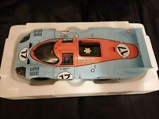 1 18 Autoart 87170 Porsche 917 L #17 Gulf Le Mans 1971 Siffert Bell John Wyer