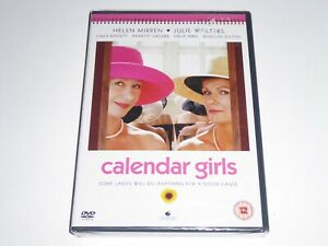 Calander Girls - Julie Walters, Helen Mirren NEW SEALED GENUINE UK DVD Calandar