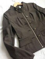 Women's BCBG MAXAZRIA  Woven Jacket Brown color size XS BNWT £