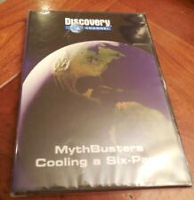 DISCOVERY MYTH BUSTERS COOLING A SIX-PACK DVD NEW SEALED