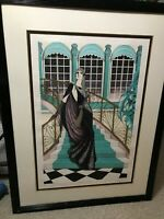"""Erte  Hand Signed Limited Edition """"Only in My Dreams"""" Numbered Serigraph 212/325"""
