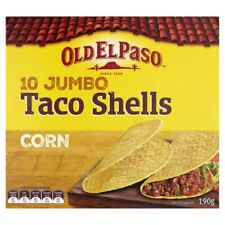 Old El Paso Corn Jumbo Taco Shells 10 pack 190g