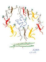 Pablo Picasso La Ronde de la Jeunesse Poster Kunstdruck Bild 80x60cm