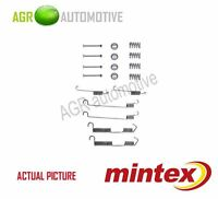 MINTEX REAR BRAKE SHOES SET FITTING KIT PIN SPRINGS GENUINE QUALITY - MBA646