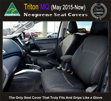 FRONT Seat Covers Mitsubishi MQ Triton Premium Neoprene Waterproof 100% Fit